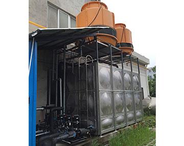 化工反应釜冷却用水冷螺杆式工业冷水机组