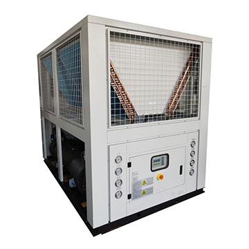 风冷螺杆式低温冷水机组(0~-35℃)单机型
