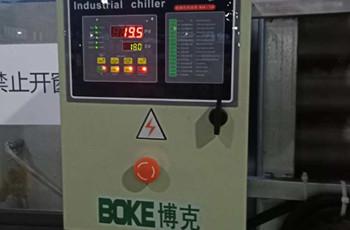 刀片生产线工业冷水机的应用