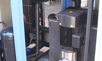 冷凝器对工业冷水机制冷的影响