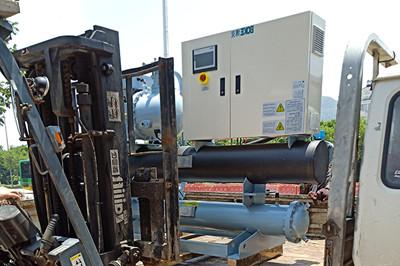 风冷式工业冷水机组如何安装基础防振装置?