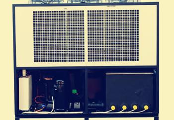 如何做好工业冷水机冷凝器的清洗保养工作?