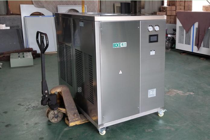 天津计量院再次向我公司定制水表流量检测装置用工业冷水机