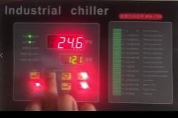 冷水机微电脑控制器温度设定