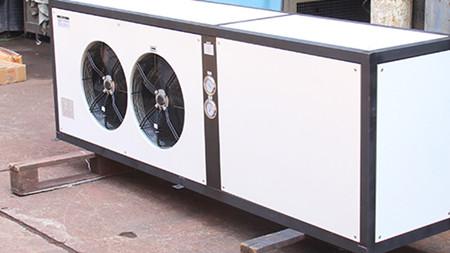 如何调节工业冷水机冷凝器的压力?