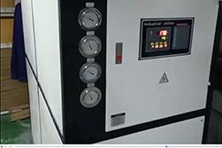 某仪表厂用20匹水冷式工业冷水机组