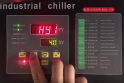 冷水机微电脑控制器参数设定