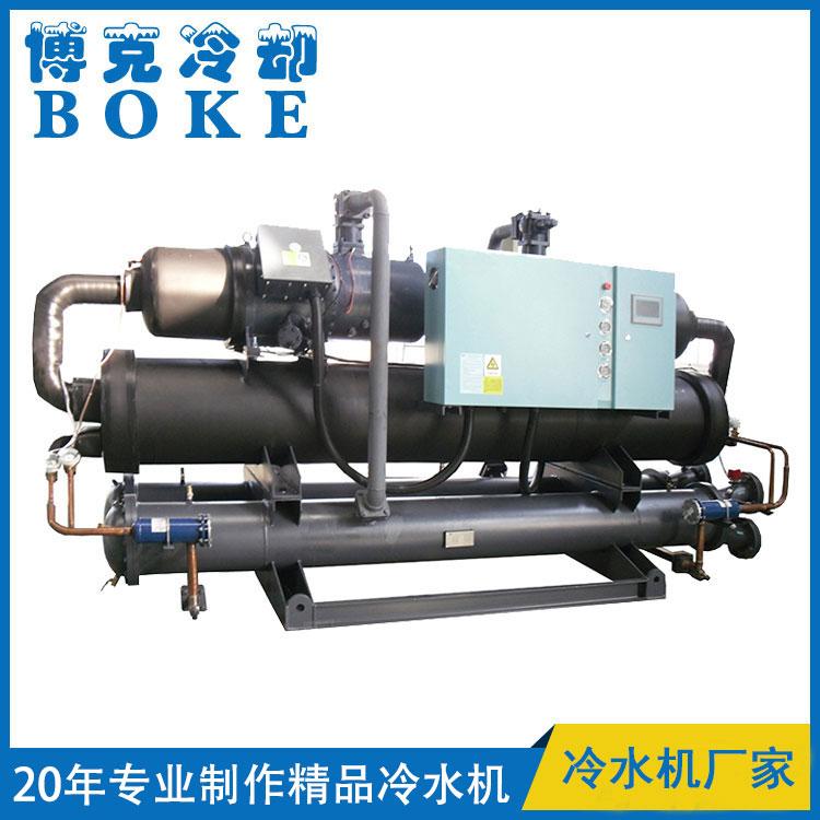饮料生产用水冷螺杆式低温冷水机组(-5℃)