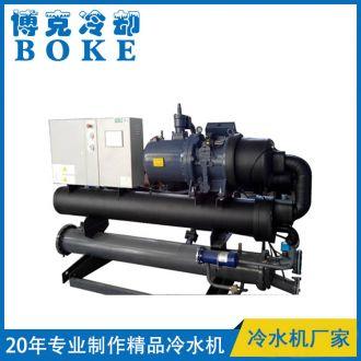 切削液冷却用水冷螺杆式冷水机